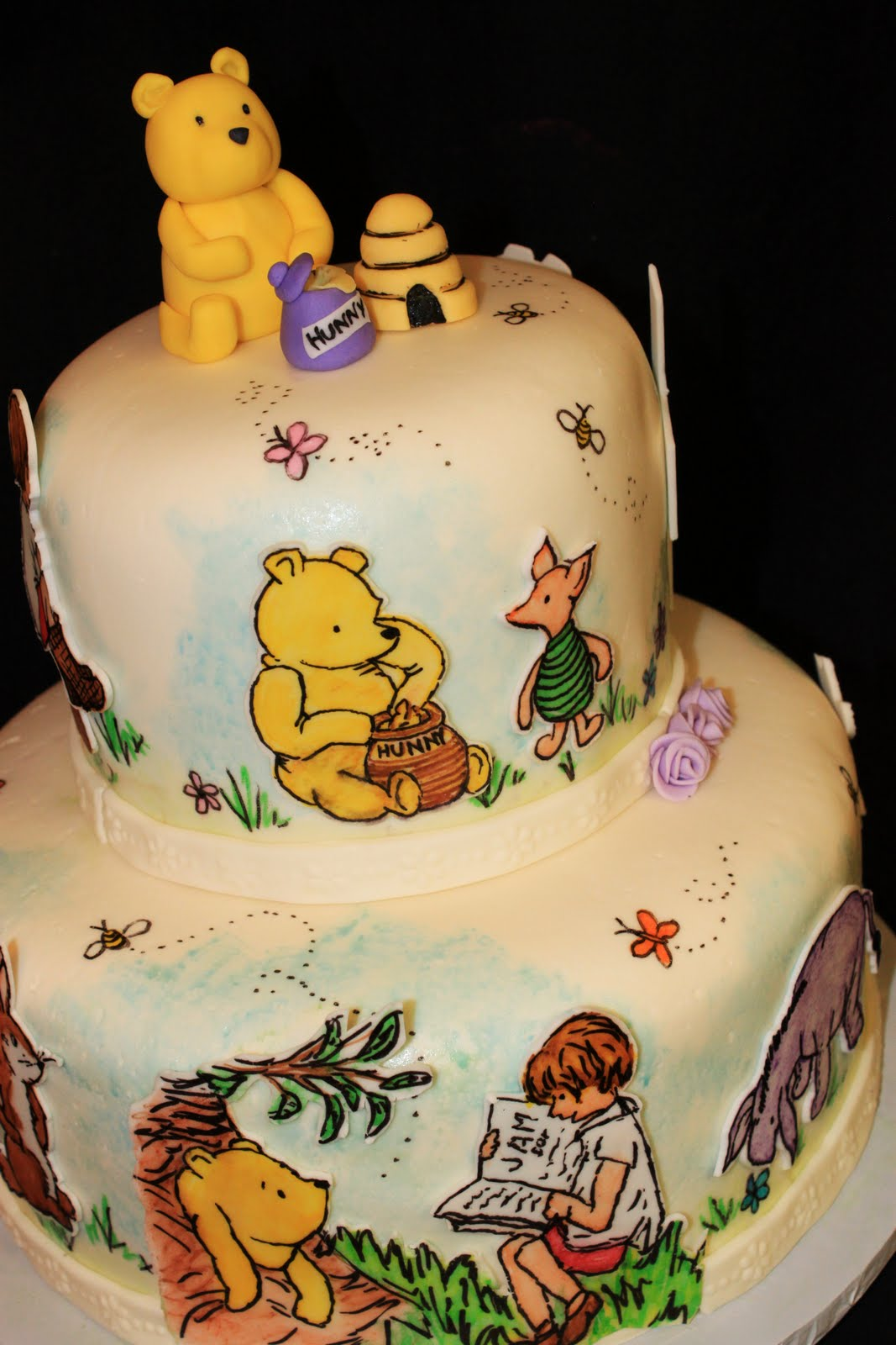 pooh cake Now is the perfect time to share these winnie the pooh cake donuts: that silly  willy nilly ol' bear is back in the christopher robin movie tickets.