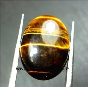 Jenis Batu Permata : Batu Permata Biduri Sepah / Tiger Eye