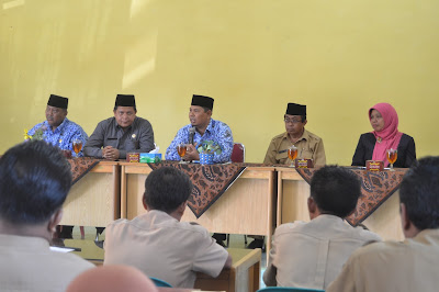 Kakankemenag Tanjungbalai Buka DDTK SOP di MAN Tanjungbalai