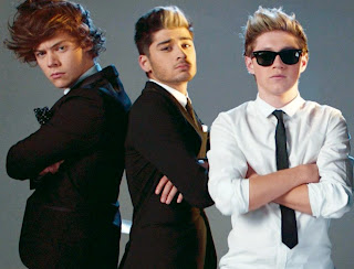 Photoshoot de Kiss You com Harry,Niall e Zayn do One Direction