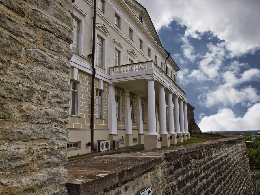 В Доме Стенбока живет правительство Эстонии