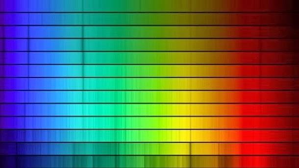 Primeiro uso de espectrografia