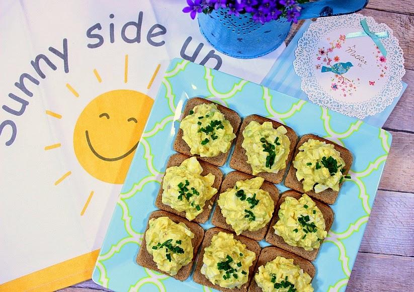 Egg Salad Canapés