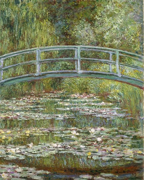 "Picture of ""The Water Lily Pond"" by Claude Monet, 1899"