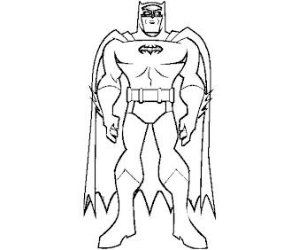 #2 Batman Coloring Page