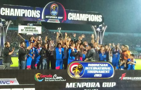 Arema Menang Piala Menpora