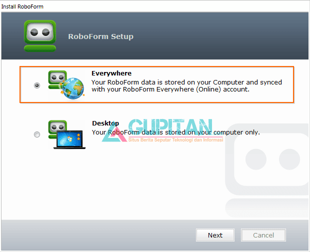 RoboForm Everywhere Pro Gratis 1 Tahun