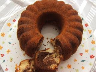 Kakaolu Vanilyalı Sünger Kek