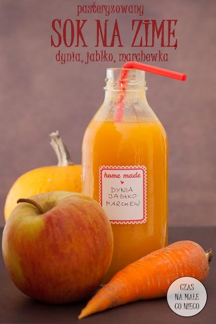 pasteryzowany sok marchew dynia jabłko