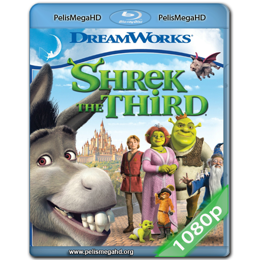SHREK TERCERO (2007) FULL 1080P HD MKV ESPAÑOL LATINO