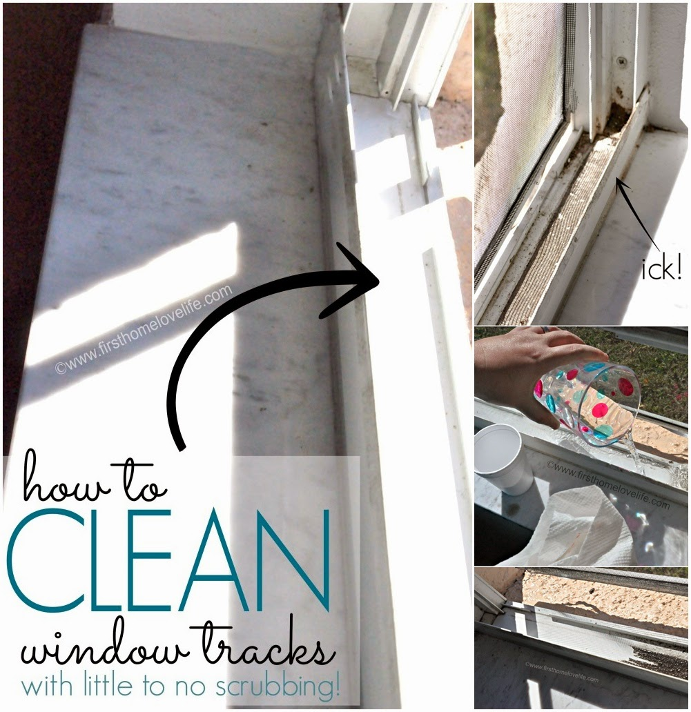 How to Clean Window Tracks