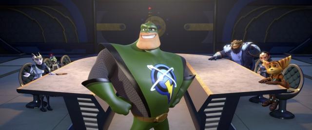 Đặc Vụ Gà Mờ, Ratchet Clank