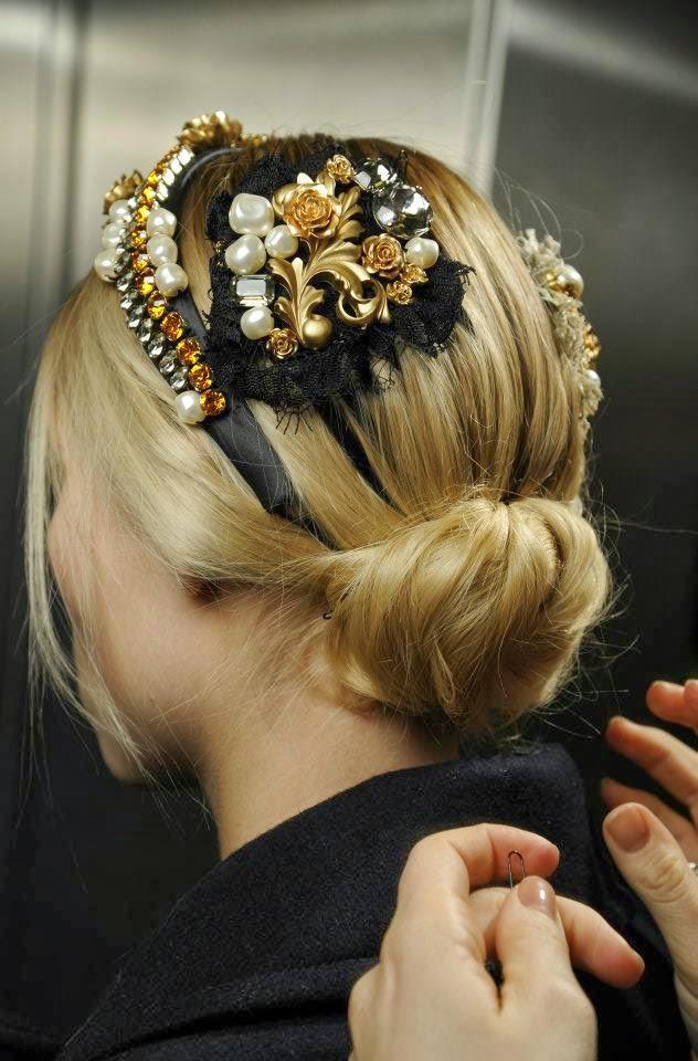 Украшения для волос и причесок своими руками