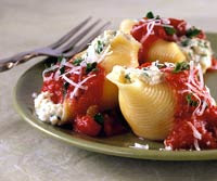 Three-Cheese-Stuffed Shells