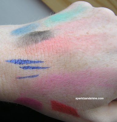 Louise Gray Topshop makeup collection swatches