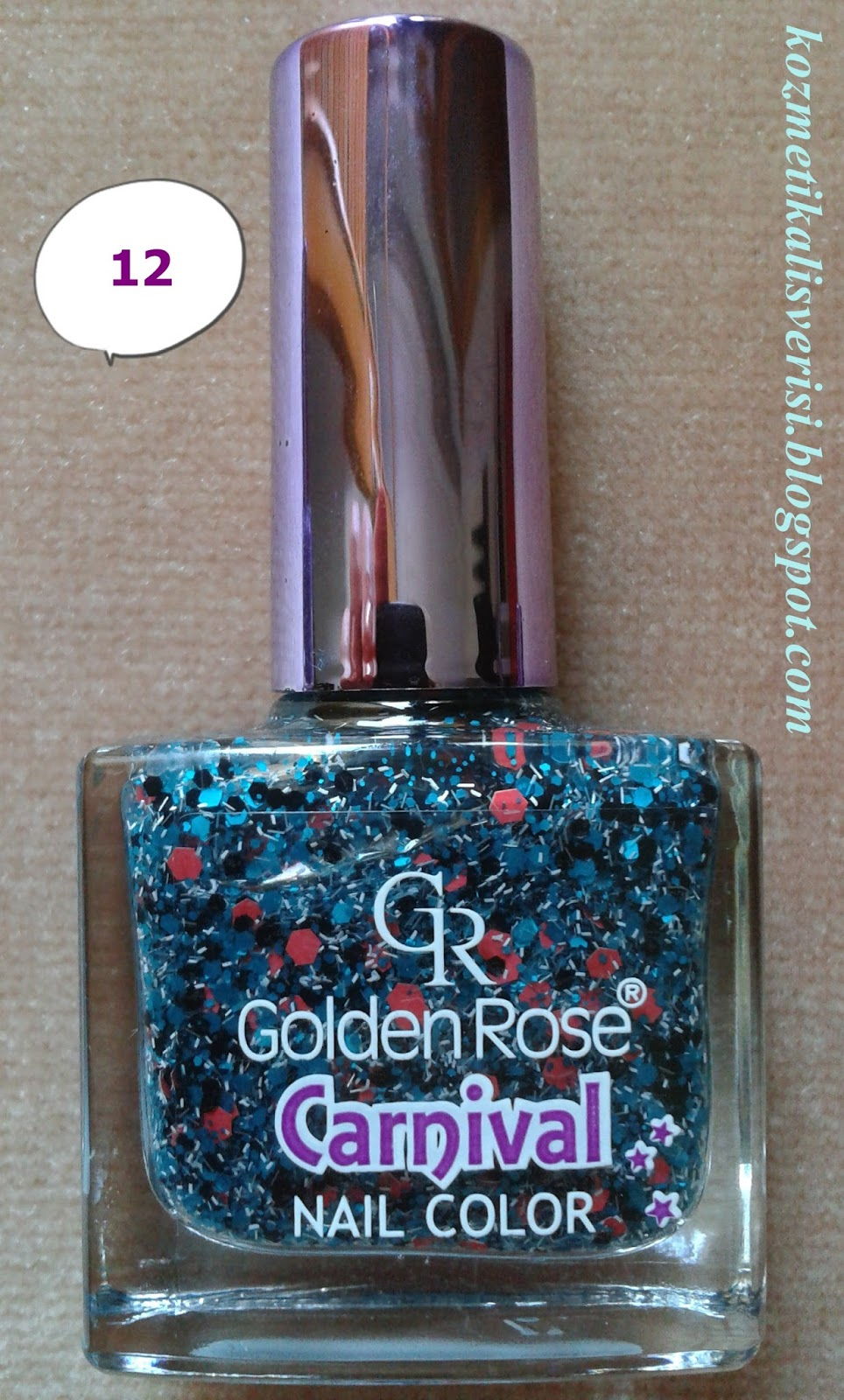 Golden Rose Carnival Nail Color 12