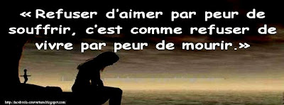 Photo de couverture facebook citation amour