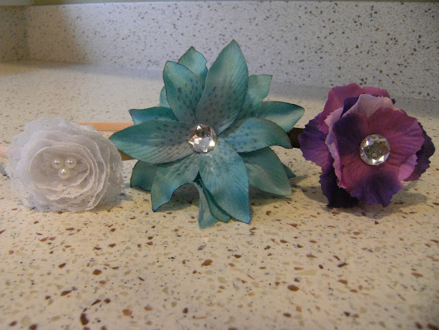 DIY flower headband, DIY lace headband