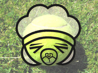 It's a kawaiified tennis ball!