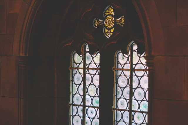 John Rylands glass windows