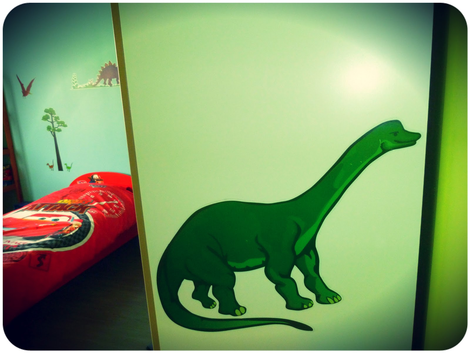 Maman est au musée: chambre dinosaures, chambre de garçon [déco]