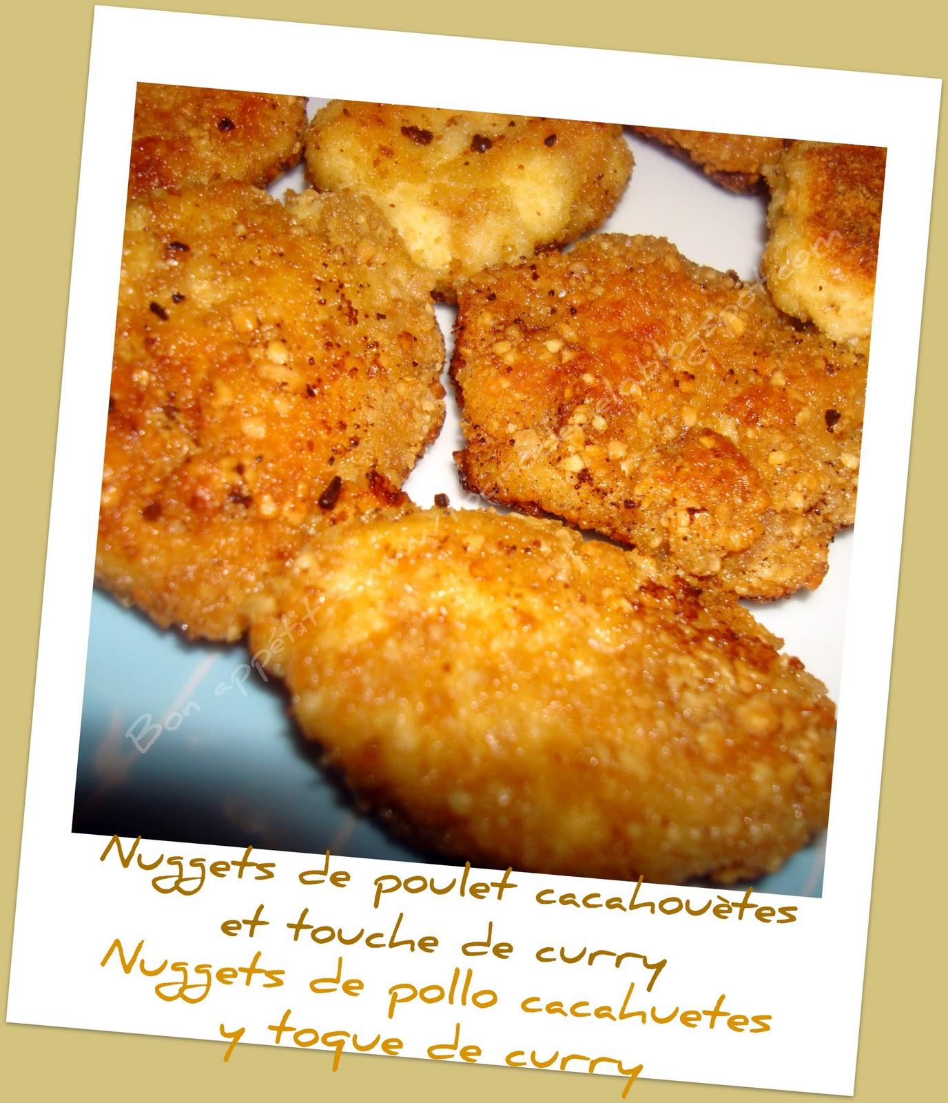 Nuggets De Poulet Maison Recette De Nuggets De Poulet: BON APPETIT: Nuggets De Poulet Cacahuètes Et Touche De