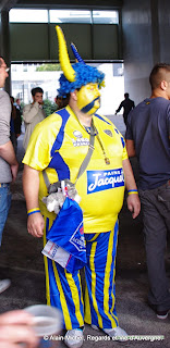 supporter de l'ASM Clermont Ferrand