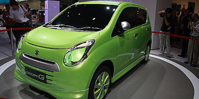 Suzuki Concept-G Based On Suzuki Alto Japan at IIMS 2011