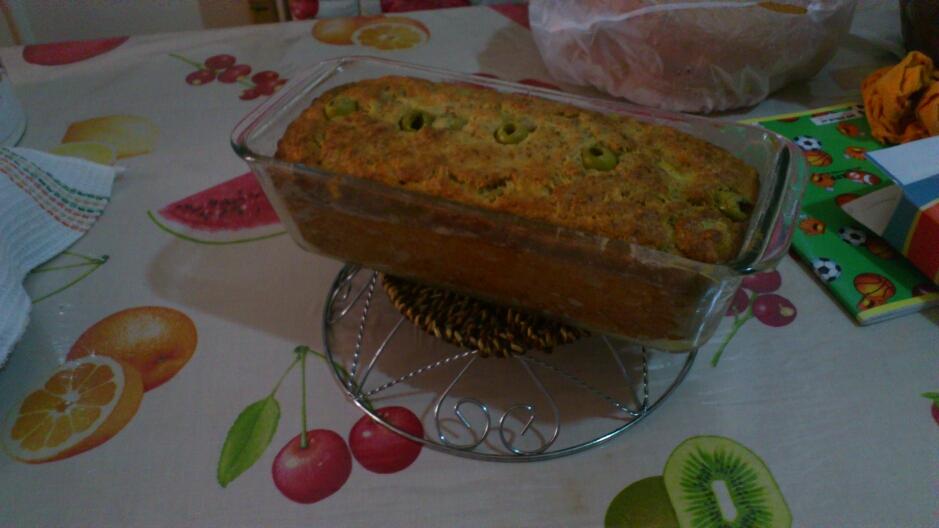 Cake Sal Ef Bf Bd Au Thon Et Olives