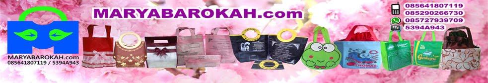 Maryabarokah.com - Produsen tas ulang tahun, tas undangan pernikahan, undangan tas, souvenir