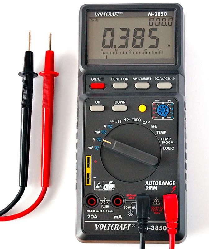 Multimeter Digital komponen elektronika