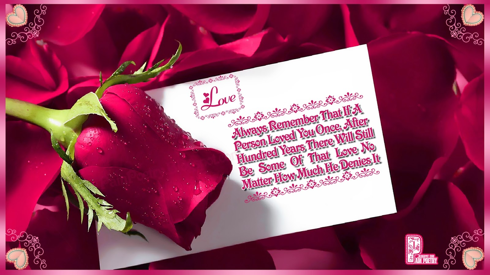 Love-Greetings-Quote-For-Lovers-With-Red-Rose-Image-Photo-Wallpaper-HD