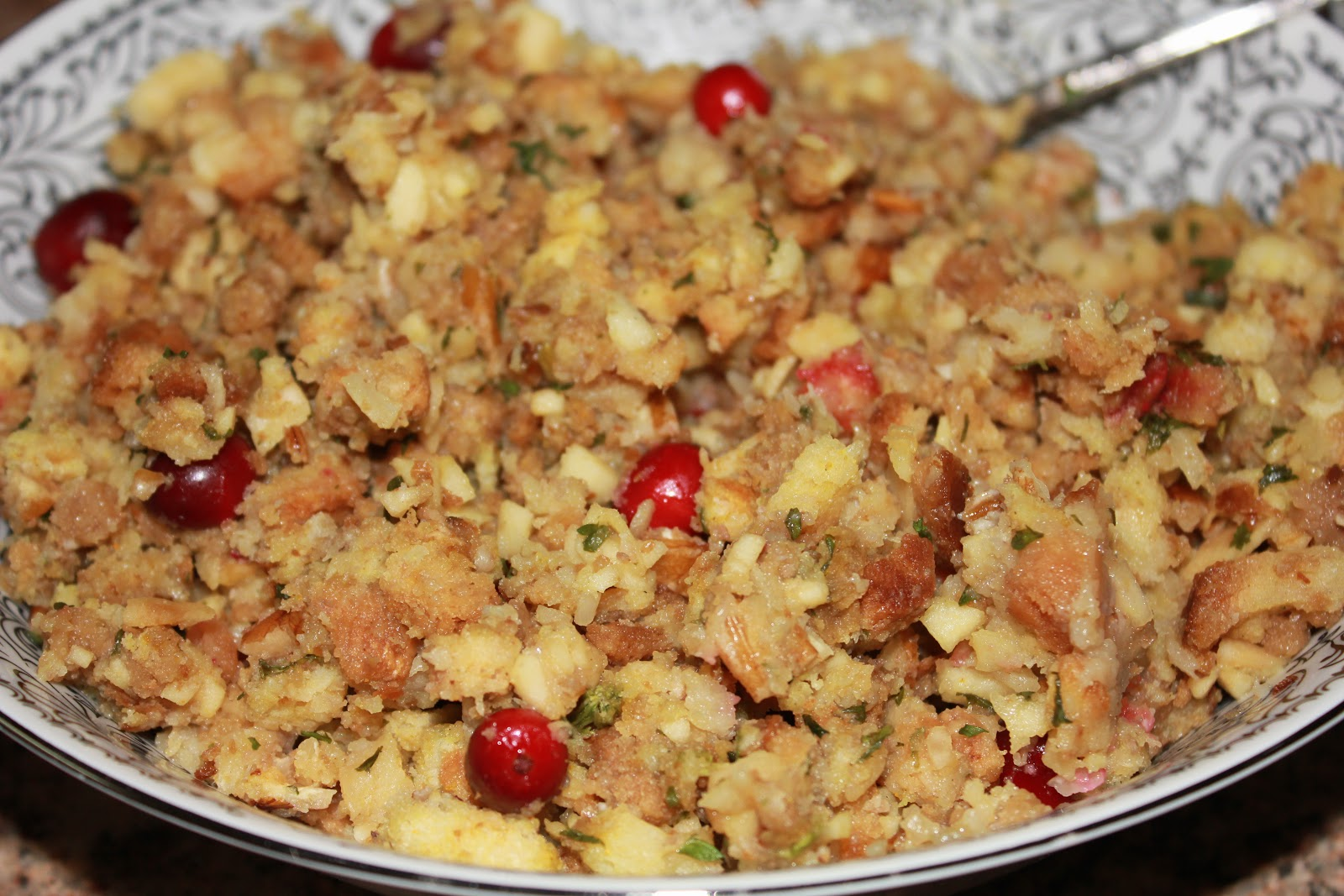 simply made with love: Apple, Cranberry & Pecan Stuffing