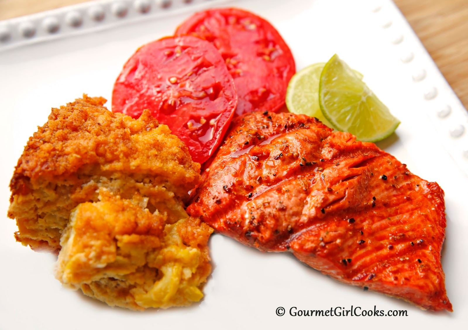 Gourmet Girl Cooks: Grilled Wild Alaskan Salmon w/ Chipotle & Lime ...