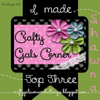 3 x Crafty Gals Corner Top 3