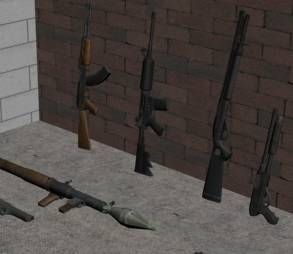 Pack de Armas para Gta 4