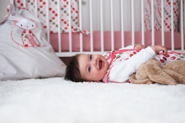 Ella & Otto   Nursery Bedding   Baby Sleeping Bag   Lollipop Tearose Design Baby Sleeping Bag