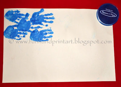 Handprint American Flag Craft for Kids