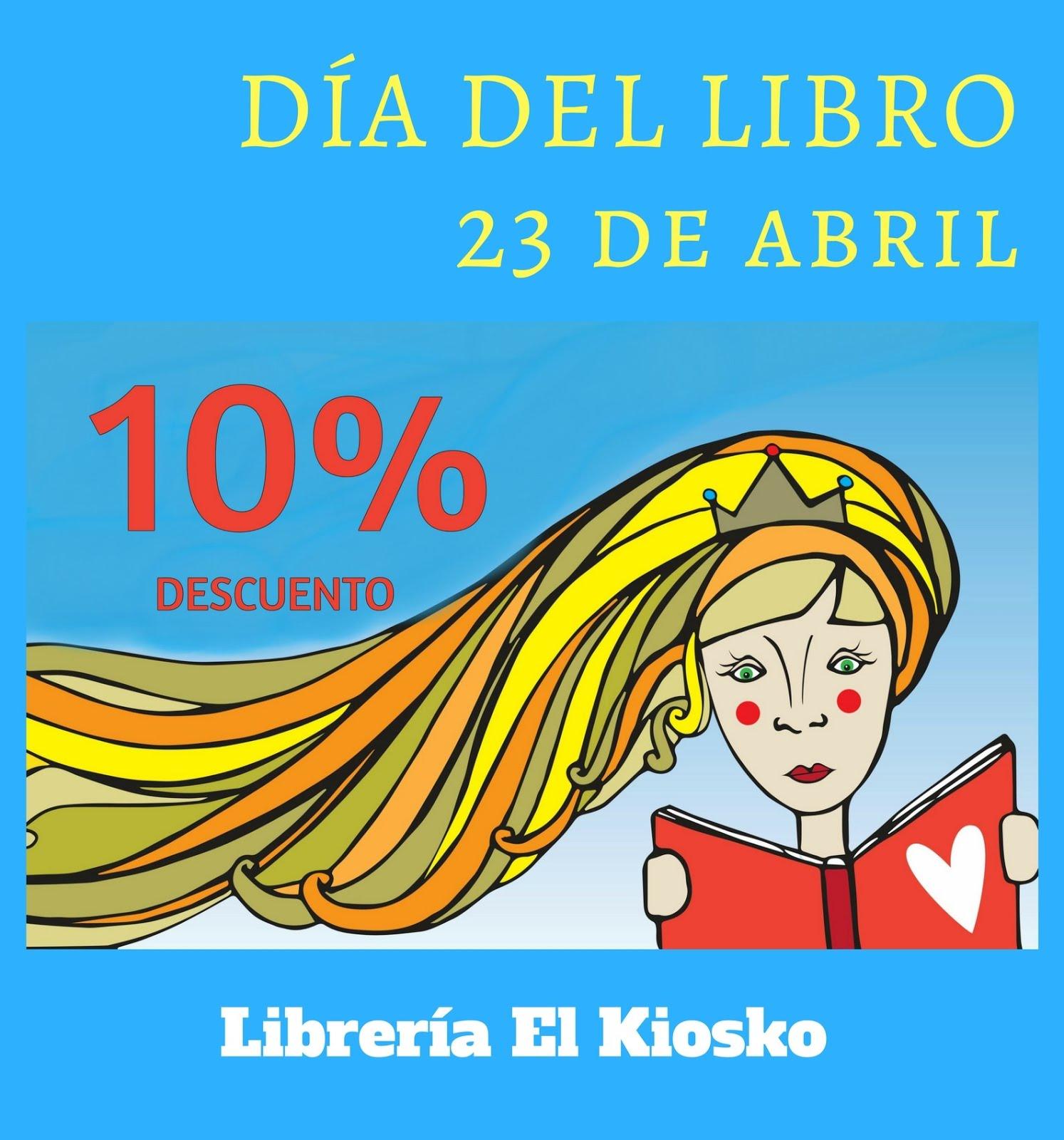 Todos los libros, 10 % de descuento en El Kiosko