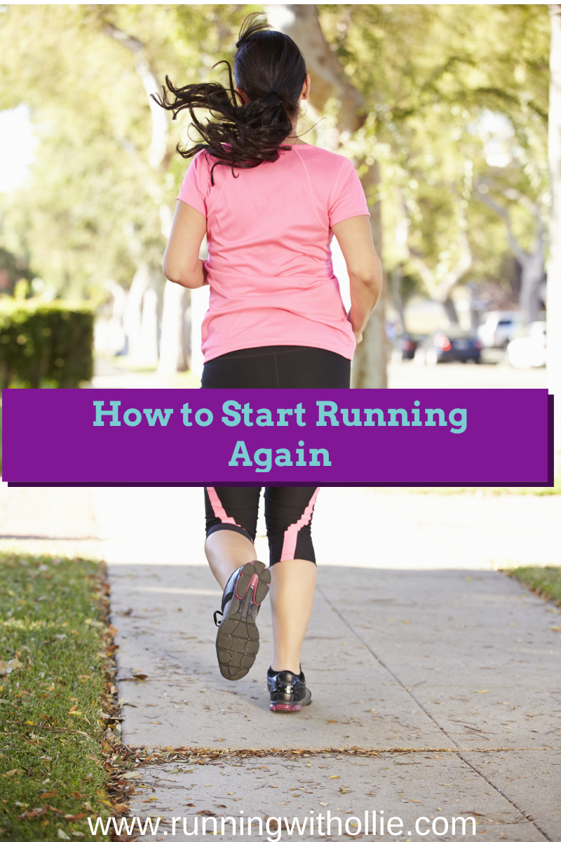 how to get started running again