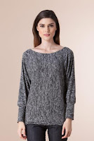 Pulover gri din tricot PR03 (Ama Fashion)