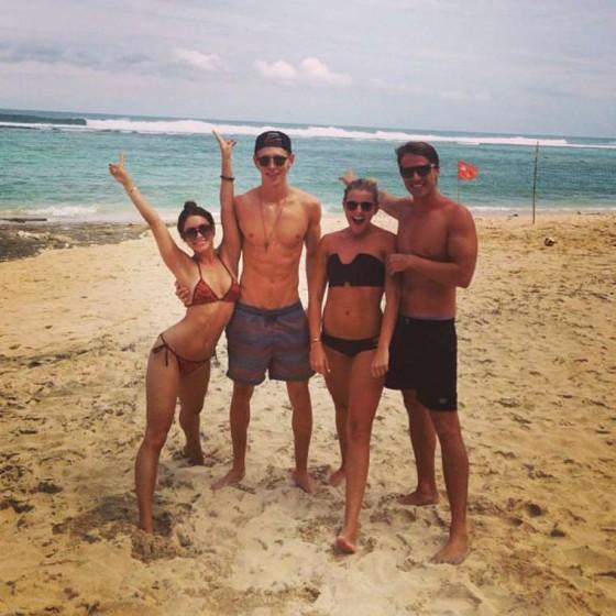 Vanessa Hudgens In a Bikini in Bali