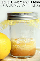 Lemon bar Mason Jar Cookies