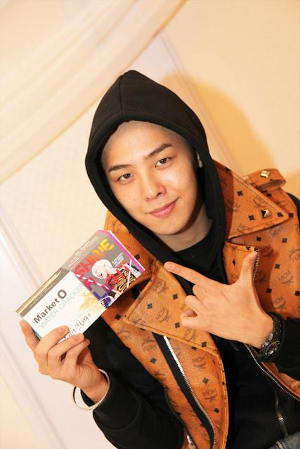 G-Dragon MCM jacket