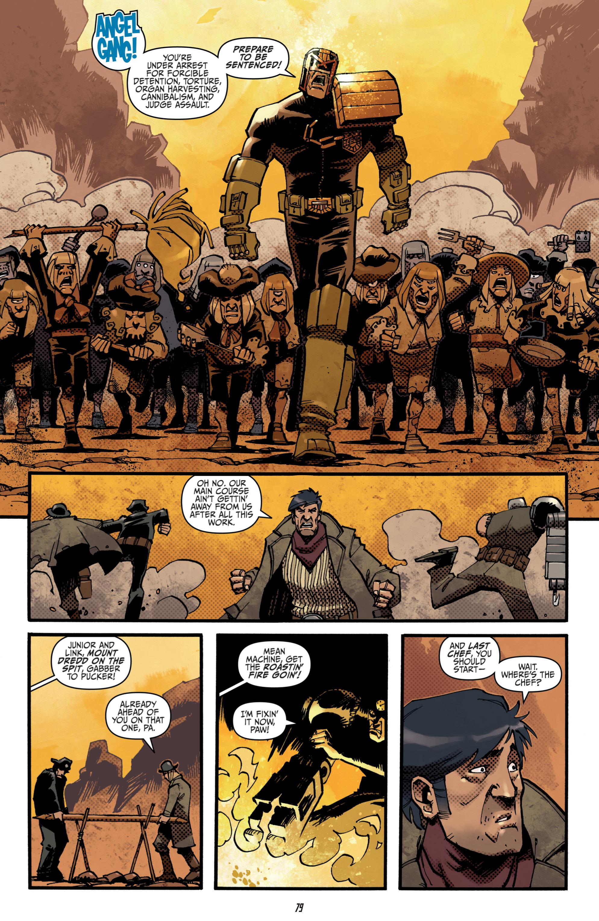 Read online Judge Dredd (2012) comic -  Issue # _TPB 3 - 79
