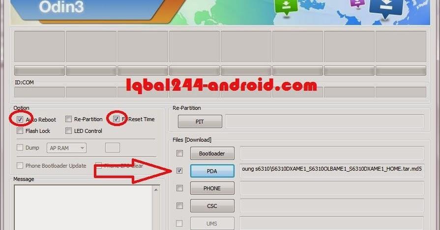Tutorial Flashing Firmware Samsung Galaxy Y S6310 - Iqbal244-Oprek