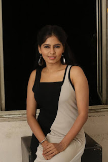 Actress Madhumitha Latest Pictures in Long Dress at Lajja Audio Launch  25281.jpg