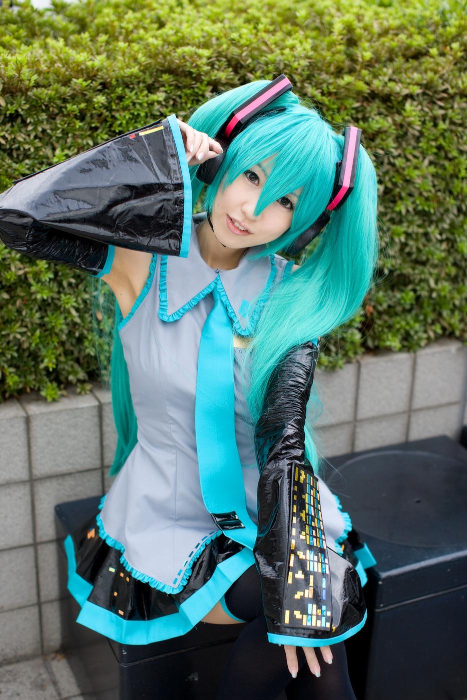 Vocaloid世界 Hatsune Miku Cosplay
