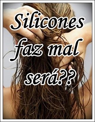 silicones nos cabelos