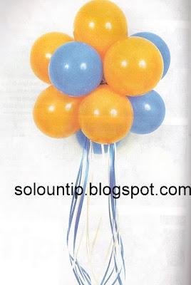Como hacer decoraci n con globos - Como hacer decoracion con globos ...